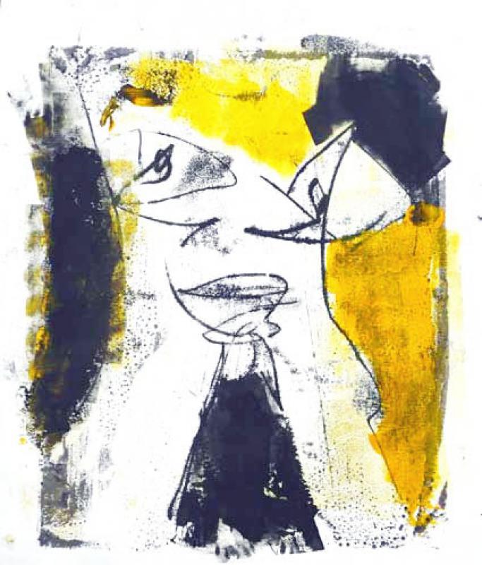 Gelb-schwarz 13