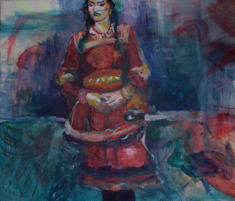 Frida y la mar